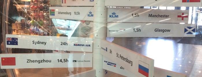 Aéroport d'Amsterdam-Schiphol (AMS) is one of Lieux qui ont plu à Dani.
