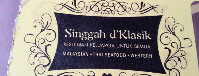 Restoran Singgah D Klasik is one of Makan2.