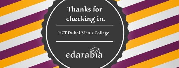 HCT Dubai Men's College كلية التقنية العليا - كلية دبي للطلاب is one of Universities in Dubai.