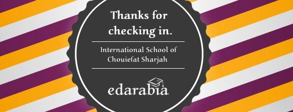 International School of Chouiefat Sharjah is one of Schools in Sharjah.