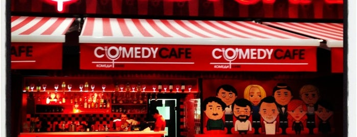 Comedy cafe is one of CAFE.