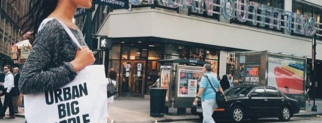 Urban Outfitters is one of NY.