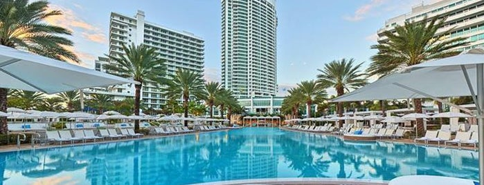Fontainebleau Miami Beach is one of 50 Best Swimming Pools in the World.
