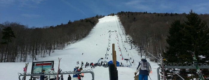 Bear Mountain Base Lodge is one of Great spots at Killington.
