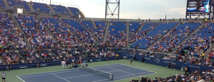 US Open Tennis Championships is one of Natalie : понравившиеся места.