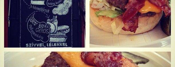 Big Daddy Burger Bár is one of BURGER..