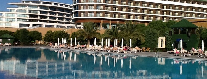 Voyage Belek Golf & Spa is one of cihanair 님이 좋아한 장소.