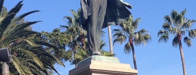 Okubo Toshimichi Statue is one of 鹿児島探検隊.