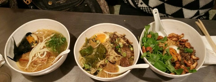 Chuka Ramen Bar is one of Asiatico/meji/arabe/extranj.