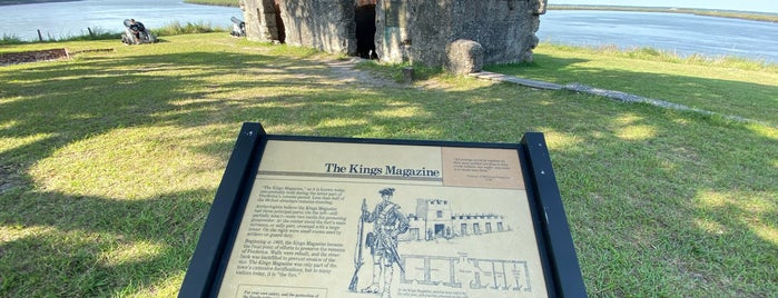 Fort Frederica National Monument is one of Revolutionary War Trip.
