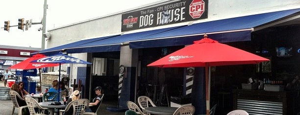 The WFNZ Doghouse is one of Charlotte NC.