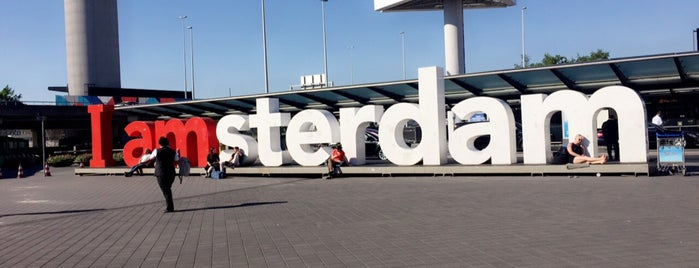 I amsterdam Visitor Center is one of Work.