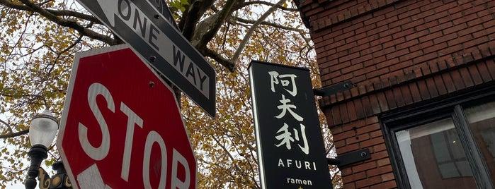 Afuri Ramen + Dumpling is one of สถานที่ที่ Cusp25 ถูกใจ.