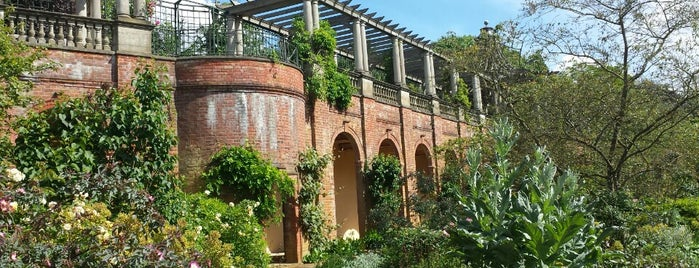 The Hill Garden and Pergola is one of London.