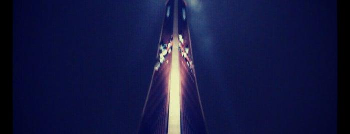 Zaķusalas TV tornis is one of Laikam būs jāaiziet.