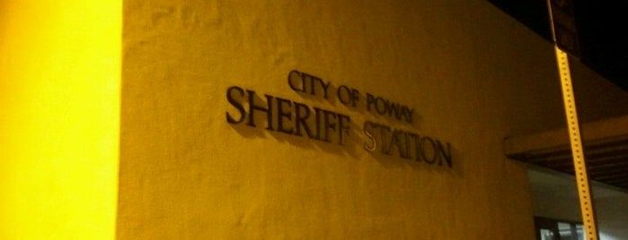 San Diego County Sheriff - Poway Station is one of Posti che sono piaciuti a John.