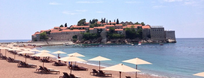 Sveti Stefan is one of Montenegro.