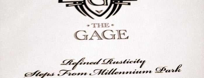 The Gage is one of Best places in Chicago, IL.