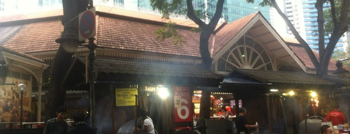 Satay Club - Lau Pa Sat is one of Singapore.