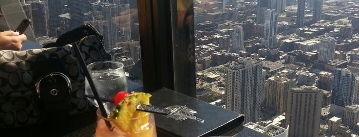 The Signature Lounge at the 96th is one of Chicago Bucketlist.