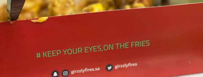 Grizzly Fries is one of Lieux sauvegardés par Queen.