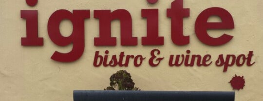 Ignite Bistro & Wine Spot is one of My San Diego To-Do's.