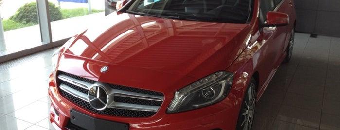 Mercedes-Benz  - Hasmer Otomotiv is one of สถานที่ที่บันทึกไว้ของ Dr.Emrullah.
