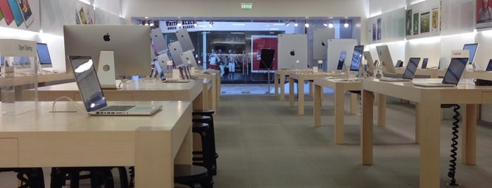Apple FlatIron Crossing is one of Apple Stores US West.