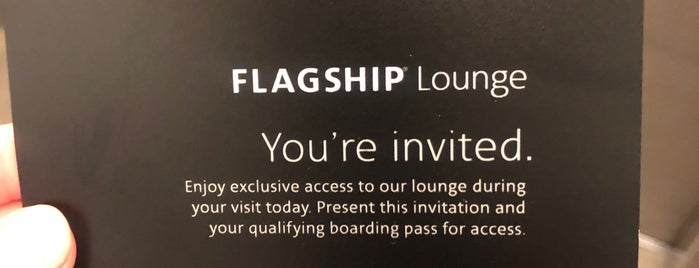 American Airlines Flagship Lounge is one of Lieux qui ont plu à Roger.