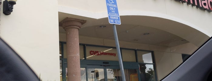 CVS pharmacy is one of Amy 님이 좋아한 장소.