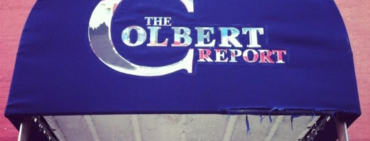 The Colbert Report is one of Lieux qui ont plu à Price.
