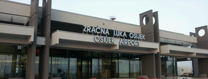 Zračna luka Osijek / Osijek Airport is one of Lugares favoritos de Carl.