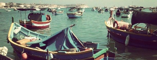 Marsaxlokk is one of VISITAR Malta.