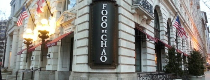 Fogo de Chao is one of Washington.