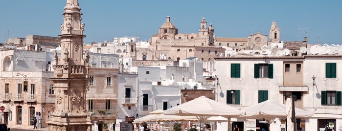 Ostuni is one of South Italy.