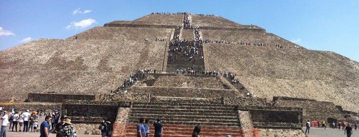 Zona Arqueológica de Teotihuacán is one of MX - Mexico.