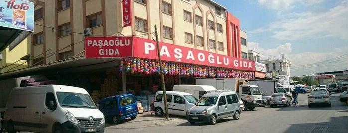 Paşaoğlu Gıda Toptan is one of ahmet 님이 좋아한 장소.