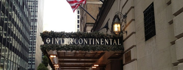 InterContinental New York Barclay is one of luke'nin Kaydettiği Mekanlar.