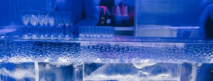 Icebar is one of Jane's Liked Places.