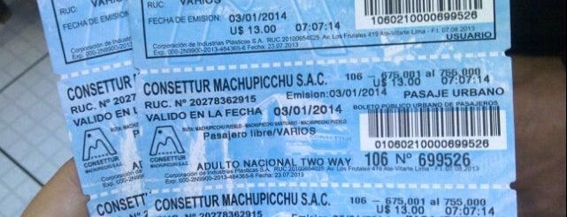 Estación de buses a Aguas Calientes is one of A Mapi.