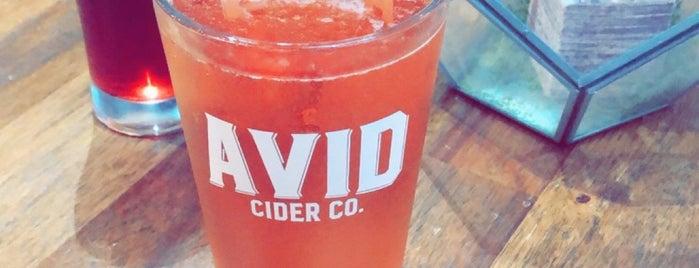 Avid Cider is one of สถานที่ที่ Wade ถูกใจ.