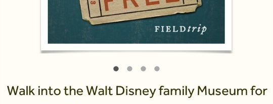 The Walt Disney Family Museum is one of San Francisco.