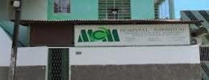 Hospital Espiritual Maria Cláudia Martins is one of Locais curtidos por Marcos.