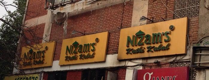 Nizam's Kathi Kabab is one of India.