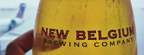 New Belgium Brewing Hub is one of Tempat yang Disukai Marie.