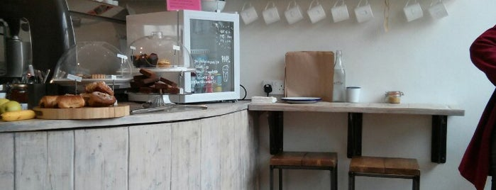 Paper & Cup is one of Specialty Coffee Shops Part 2 (London).