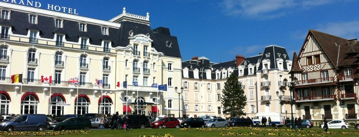 Grand Hôtel de Cabourg is one of Dave 님이 저장한 장소.