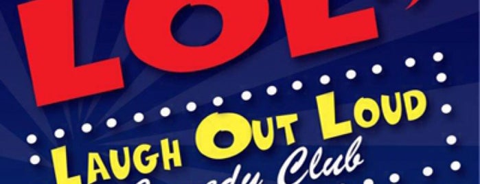 Laugh Out Loud Comedy Club is one of NC april 2012.
