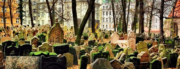 Старое еврейское кладбище is one of Praga.
