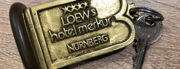 Ringhotel Loew's Merkur is one of Nürnberg, Deutschland (Nuremberg, Germany).